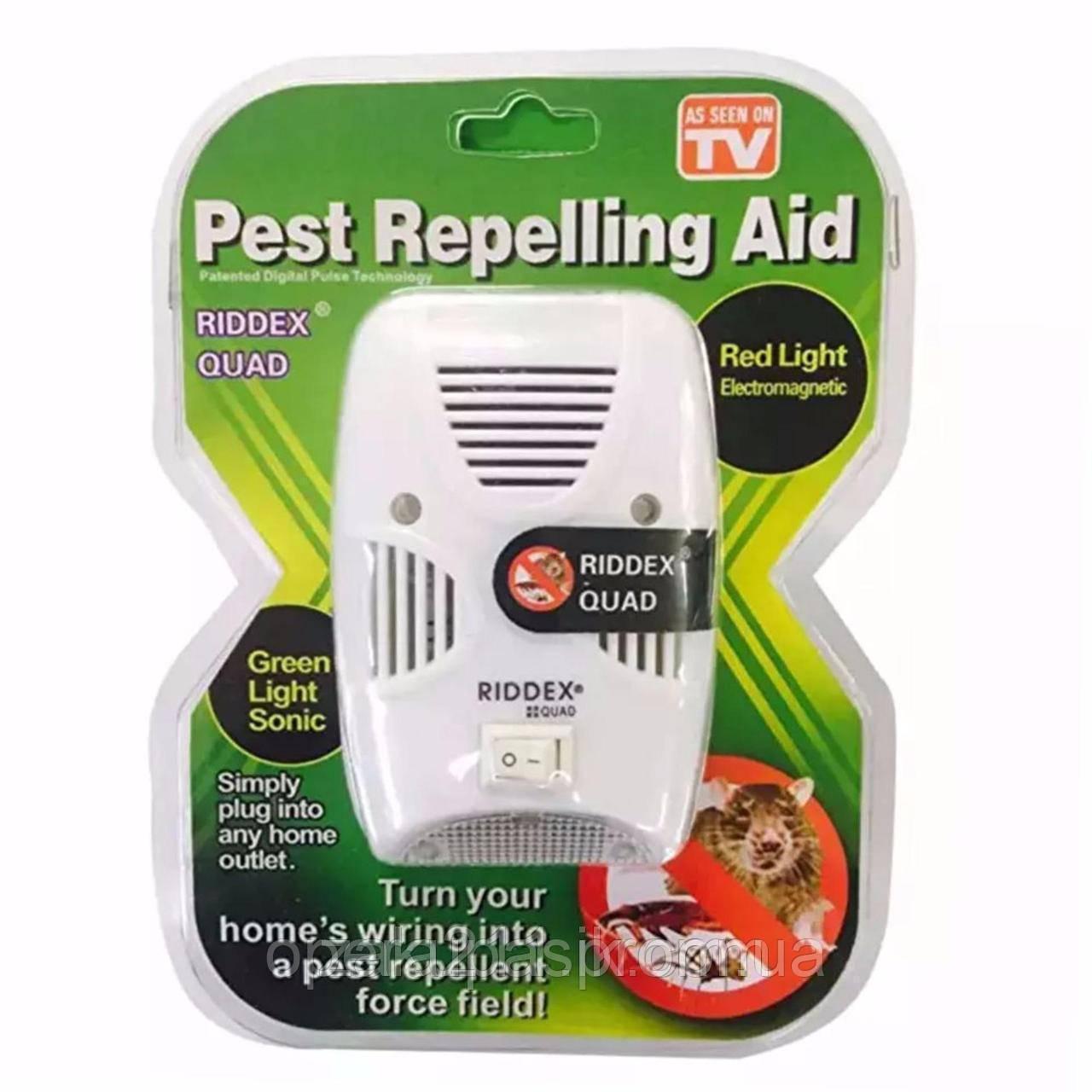 Электромагнитный отпугиватель грызунов (RIDDEX Quad Pest Repelling Aid) (AS SEEN ON TV)