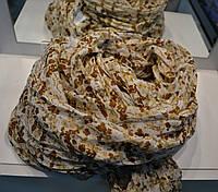 Женский шарф расцветка ситчик