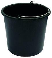 Ведро пластиковое 8 литров, черное, Господар 92-0314