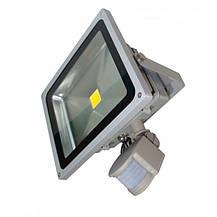 Светодиодный матричный прожектор с датчиком движения 10W, фото 3