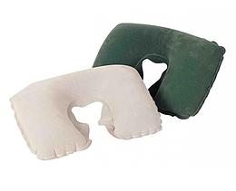 Велюр-подушка подголовник.Подушка подголовник надувная.