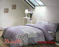 """Двуспальный набор постельного белья 180*220 из Бязи """"Gold"""" №152039 KRISPOL™"""