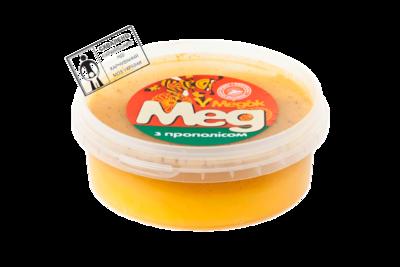 Мед з прополісом 0,2 кг