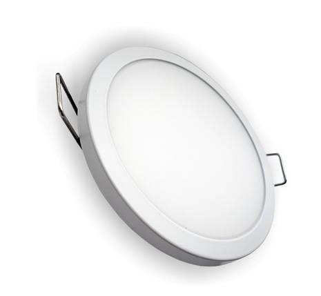 Светодиодная панель RIGHT HAUSEN 6W 4000K круглая белая Код.57885, фото 2