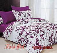 """Семейный набор хлопкового постельного белья из Бязи """"Gold"""" №159945AB KRISPOL™"""
