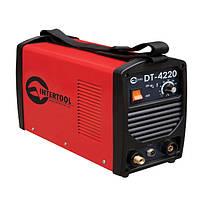 Сварочный инвертор для аргоно-дуговой сварки 230В, 4.5кВт, 10-200А, гарантия 1 год, 12 кг, Intertool DT-4220