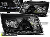 Передние фары тюнинг оптика Volkswagen Bora