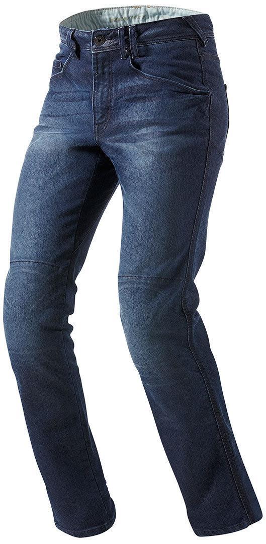 Джинсовые брюки Revit Vendome р.34 L34 (с кевларовыми вставками) текстиль dark blue