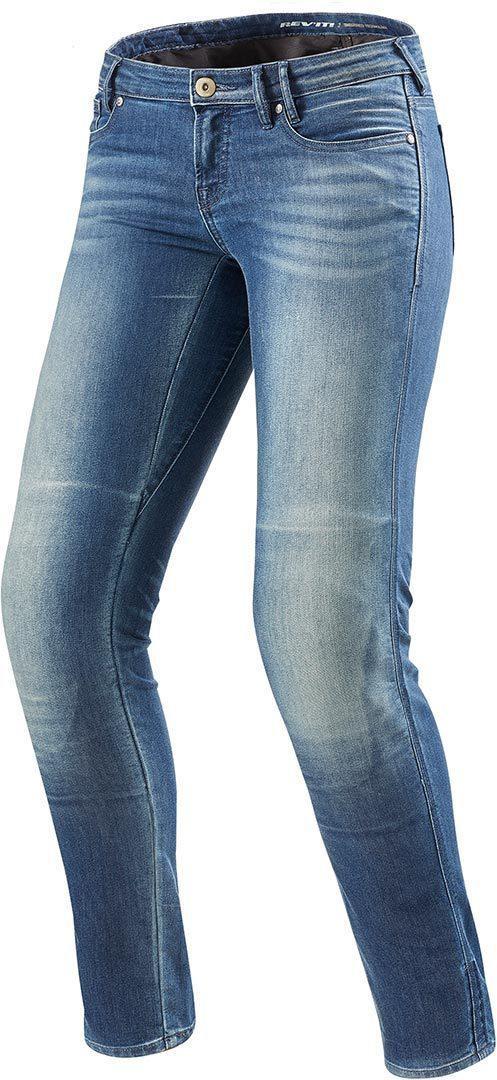 Джинсовые брюки Revit Westwood женские р.24 L32 (с кевларовыми вставками) текстиль light blue