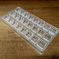 Поликарбонатная форма для шоколадных конфет №11 (Китайские фонарики)
