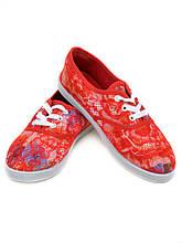 PODIUM Кеды 922 Flower-red Распродажа