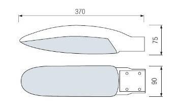 Светодиодный уличный консольный светильник Horoz (HL195L) 26W IP65 Код.58095, фото 2