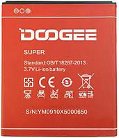 Оригинальный аккумулятор Doogee X5 Pro (3100mAh) (батарея, АКБ)