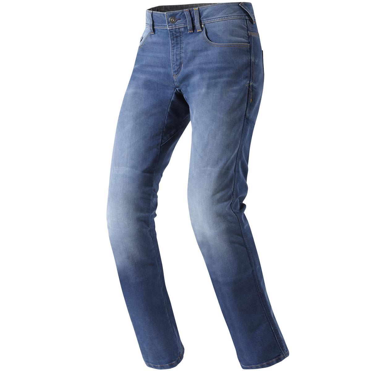 Джинсовые брюки Revit Jersey р.34 L34 (с кевларовыми вставками) текстиль light blue
