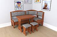 Кухонный уголок+стол+табуретки Софи 2 Летро савана флок