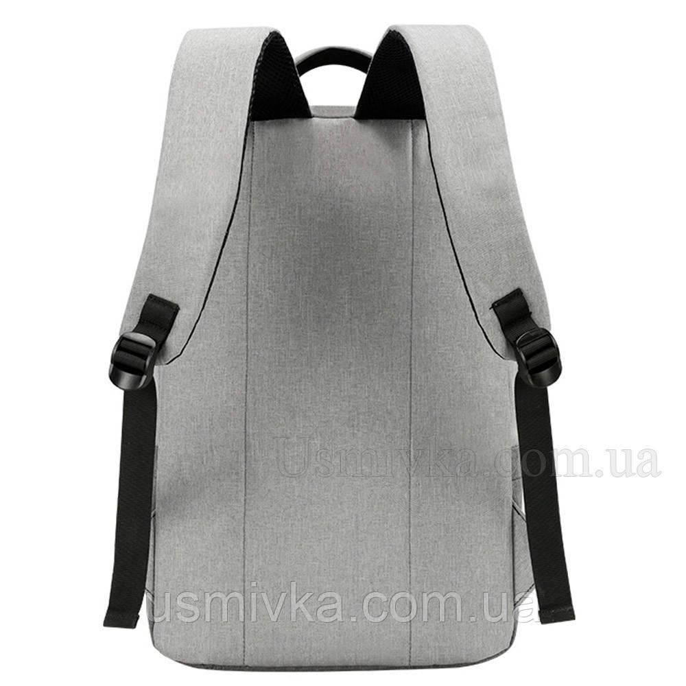 aa8d9de8dab5 Яркий городской рюкзак Shaolong + USB, цена 433,44 грн., купить в Одессе —  Prom.ua (ID#732639238)