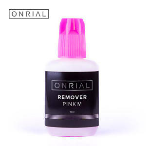 Ремувер для ресниц ONRIAL, Pink M, гелевый, 15 мл