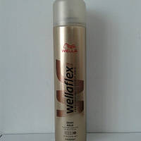 Лак для волос Wellaflex 400 мл. (Велла блеск и фиксация суперсильная фиксация №5)