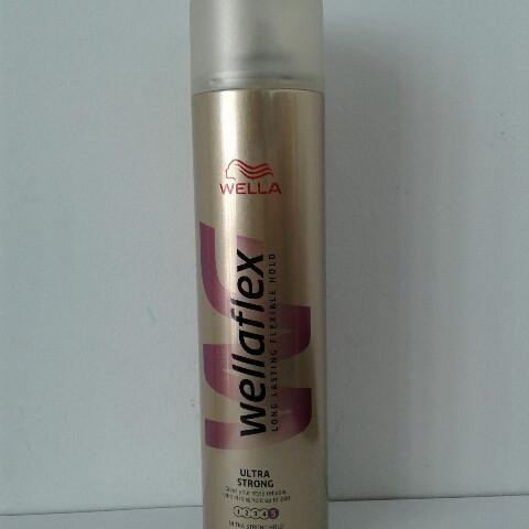Лак для волос Wellaflex Ultra strong 400 мл. (Велла фиксация №5  )