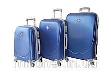 Набор чемоданов и кейсов 6в1 Bonro Smile синий, фото 2