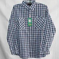 Мужская котоновая рубашка (длинный рукав) оптом со склада в Одессе 304aff2a7dce9