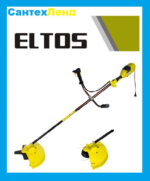 Электрический Триммер Eltos КГ-2400 3 ножа 1 катушка