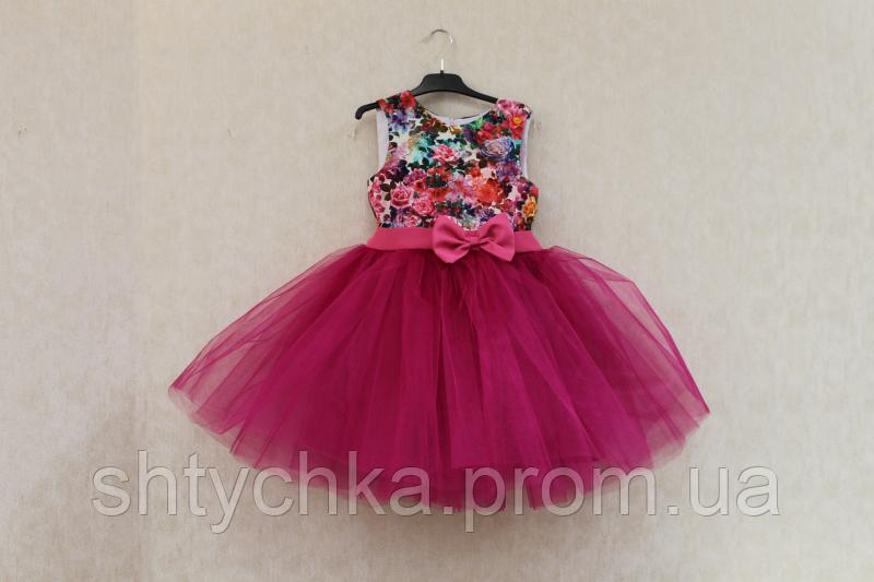 """Нарядное платье на девочку """"Райский цветочек"""""""