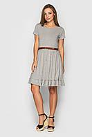 Короткое летнее платье из вискозы Сантина