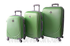 Набор чемоданов и кейсов 6в1 Bonro Smile салатовый, фото 2