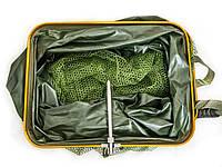 Садок прорезиненный квадратный в чехле 250x33x43 см