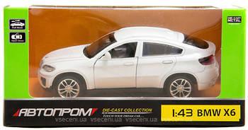 Машина металл 67313 BMW X6 АВТОПРОМ в коробке 14,2х7,2х6,5см