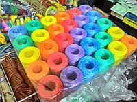 Шпагат тепличный полипропиленовый 100г/шт - 30шт/упаковке разноцветный