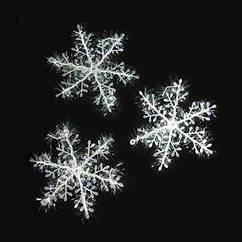 Снежинка Декоративная 18х18см (уп.3 шт)