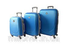 Набор чемоданов и кейсов 6в1 Bonro Smile светло синий, фото 2