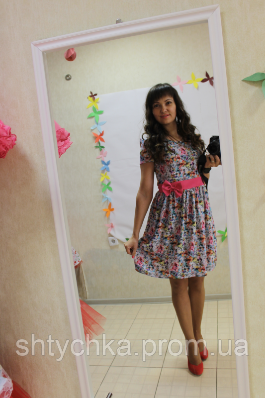 """Летнее платье на маму """"Миленький цветочек"""""""