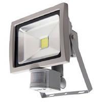 Светодиодный матричный прожектор с датчиком движения 20W, фото 1