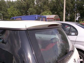 Спойлер заднего стекла тюнинг Mini Cooper R50 R53
