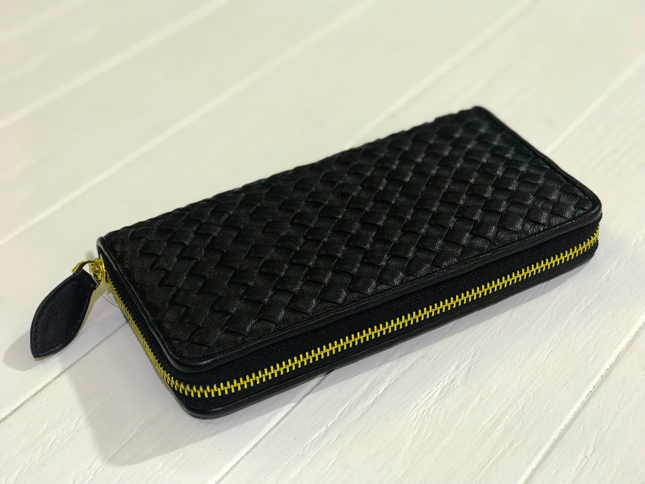 01b193e9b497 Кошелек Bottega Veneta черный - Dizar Украина - чемоданы, сумки, аксессуары  в Херсоне