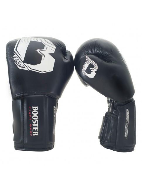 Перчатки боксерские Booster BT CHAMP Black 14oz