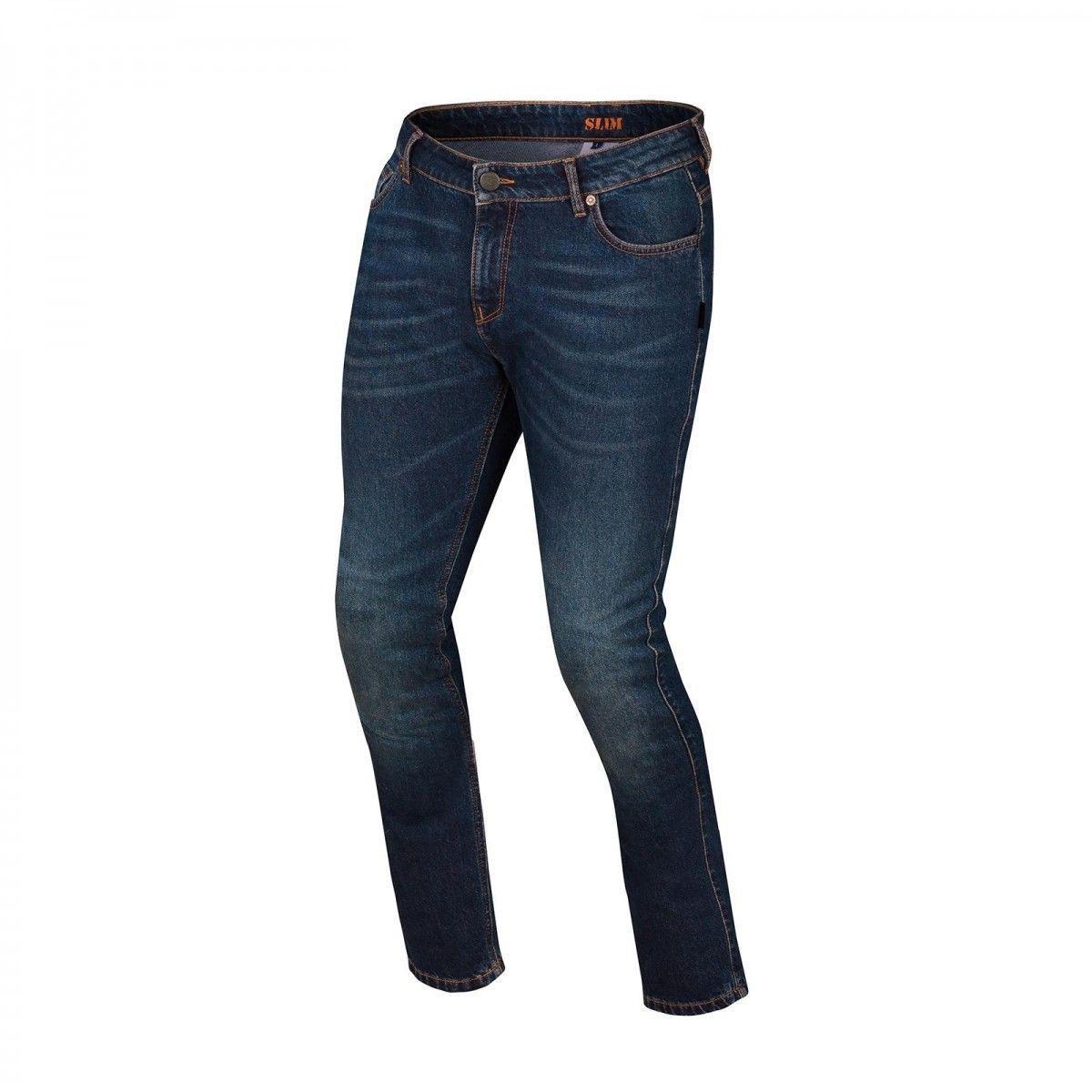 Джинсовые брюки Bering Gorane р.M (с кевларовыми вставками) текстиль blue