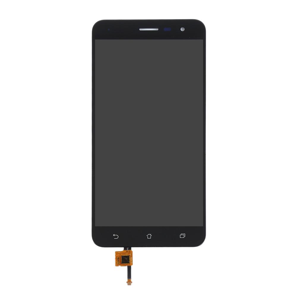 Дисплей для Asus ZenFone 3 (ZE552KL) с тачскрином черный, Sapphire Black Оригинал (проверен)