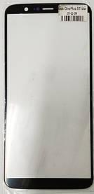 Корпусное стекло на OnePlus 5T черное