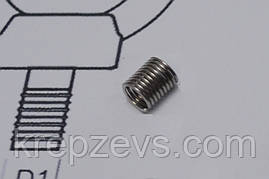Резьбовые проволочные вставки М9 DIN 8140