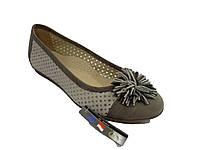 Туфли перфорированные кожаные в категории балетки женские в Украине ... 83c567ddc5bb6