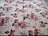 Микрофибровая простынь, покрывало TRUE LOVE евро Розы на розовом, фото 5