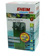 Внешний фильтр EHEIM (Эхейм) Сlassic 250 Plus Media классический для аквариумов до 250 л + бионаполнители