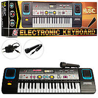 Синтезатор MQ869USB (36шт) 37клавиш, микрофон,запись,USBвход,МР3, в кор-ке, 47-14-6см