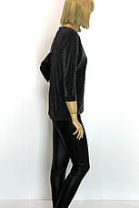 Жіночий нарядний реглан з люрексом Pretty Lolita, фото 2