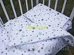 Постельный набор в детскую кроватку (3 предмета) Звездочка 2