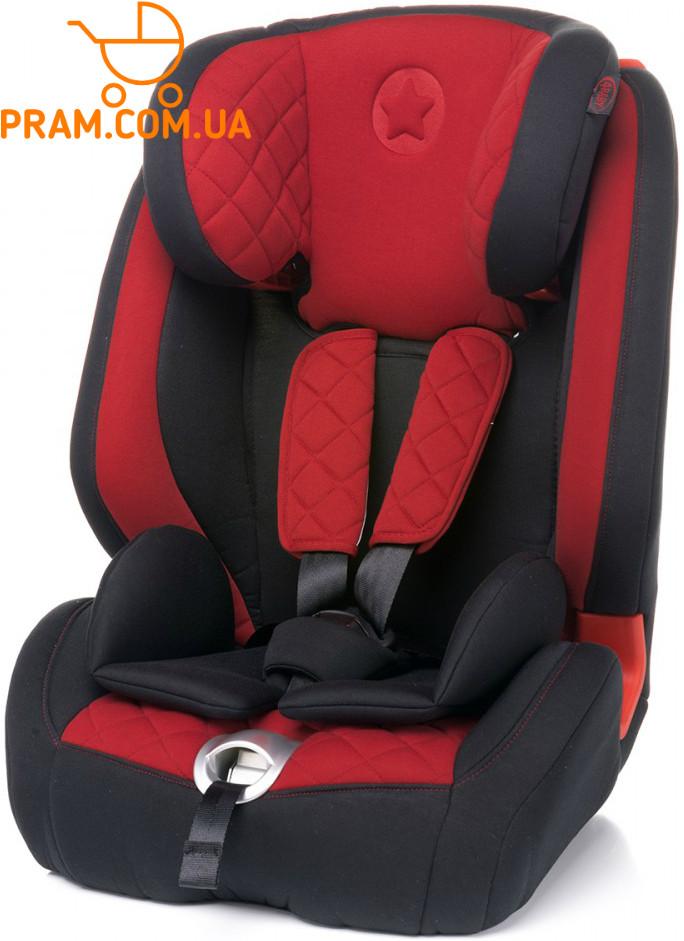 Автокресло группы 1-2-3 (9-36 кг) 4baby Star-Fix Red Красный